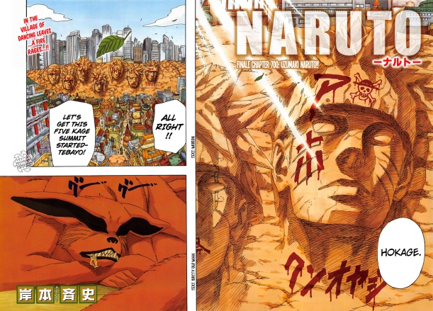 Naruto chapter 700 - Final Chapter