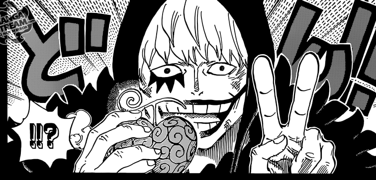 One Piece chapter 766 - Rosinante and the Ope Ope no Mi