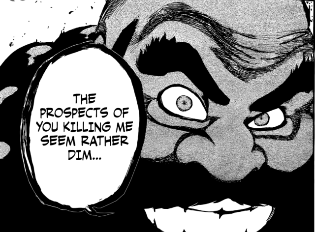 Bleach chapter 608 - Ichibei vs Yhwach