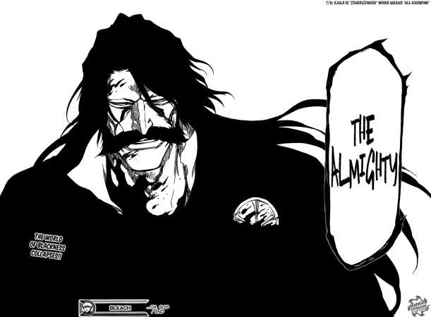Bleach chapter 609 - The Almighty