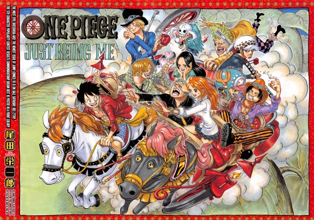 One Piece chapter 771 - colour spread