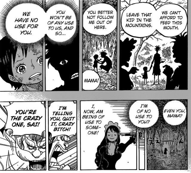 One Piece chapter 771 - Baby 5's trauma