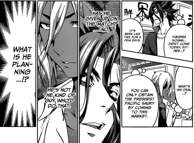 Shokugeki no Soma chapter 96 - Akira and Ryou