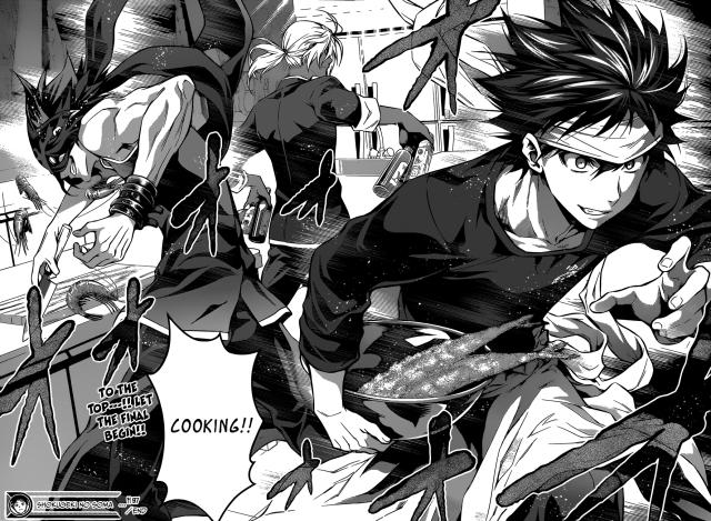 Shokugeki no Soma chapter 97 - The Autmn Election final begins