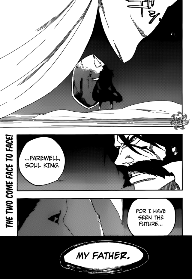 Bleach chapter 611 - the son of the Soul King