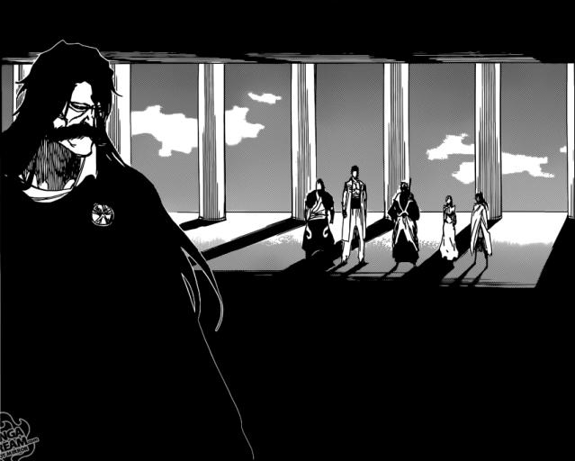 Bleach chapter 613 - Ichigo meets Juhabach