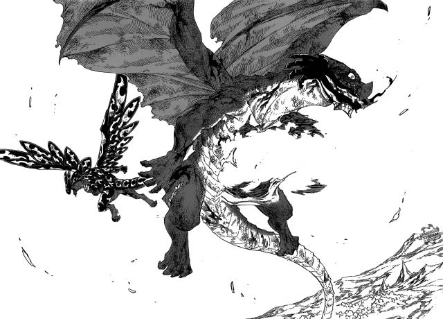 Fairy Tail chapter 414 - Igneel's sacrifice
