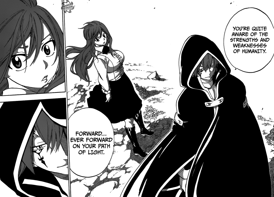 Fairy Tail chapter 416 - The brightest light
