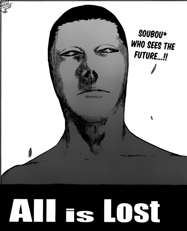Bleach chapter 615 - All is Lost