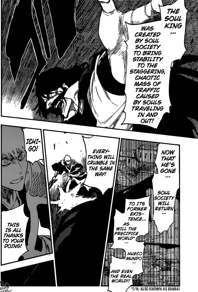 Bleach chapter 615 - the world without the Soul King