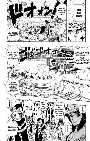 One Piece chapter 174 - Robin notices Vivi