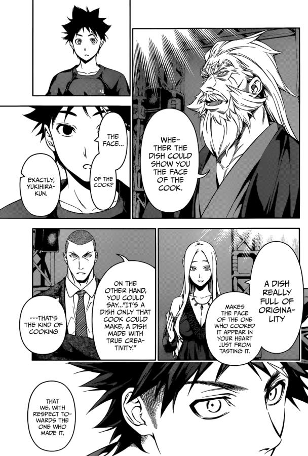 Shokugek no Soma chapter 103 - the verdict 2