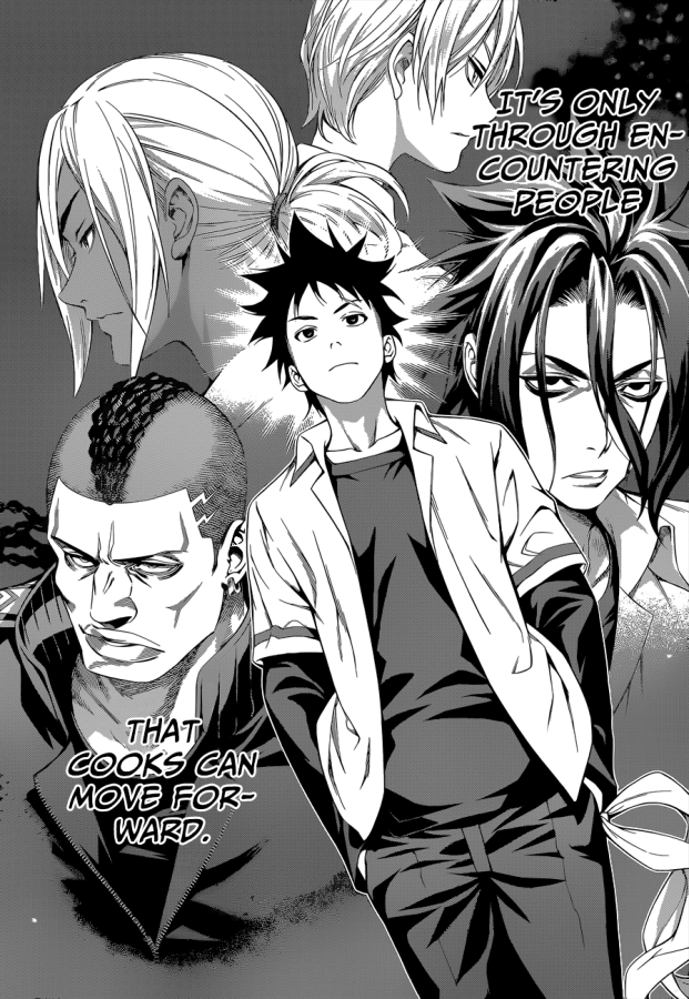 Shokugeki no Soma chapter 104 - The worth of encounters