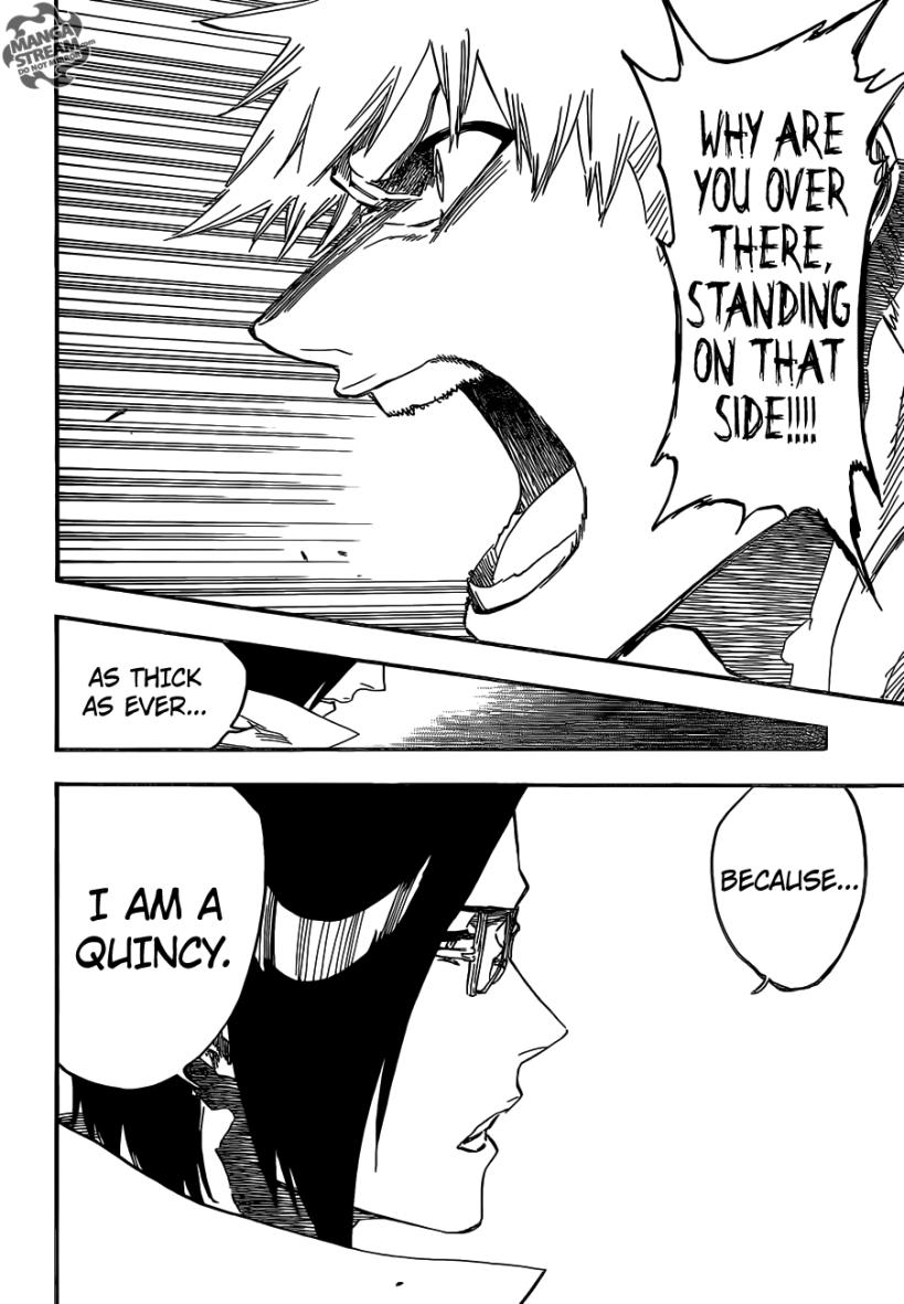 Bleach chapter 620 - Ichigo and Uryuu