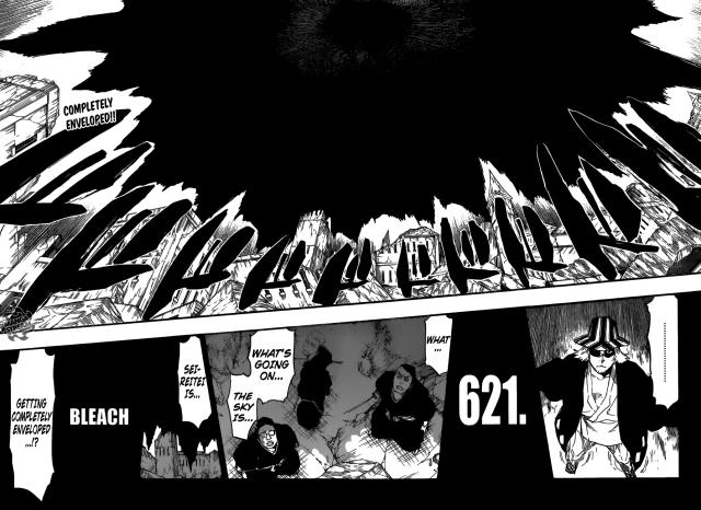 Bleach chapter 621 - The Dark Curtain