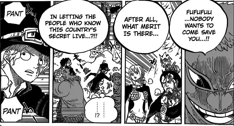 One Piece chapter 781 - Doflamingo's final plan