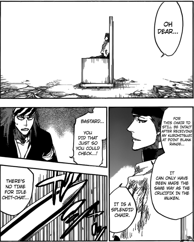 Bleach chapter 622 - Aizen's prison