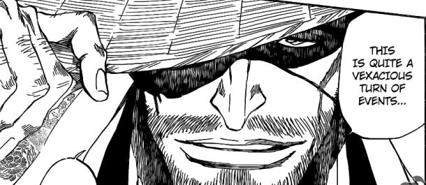 Bleach chapter 623 - Kyouraku 1