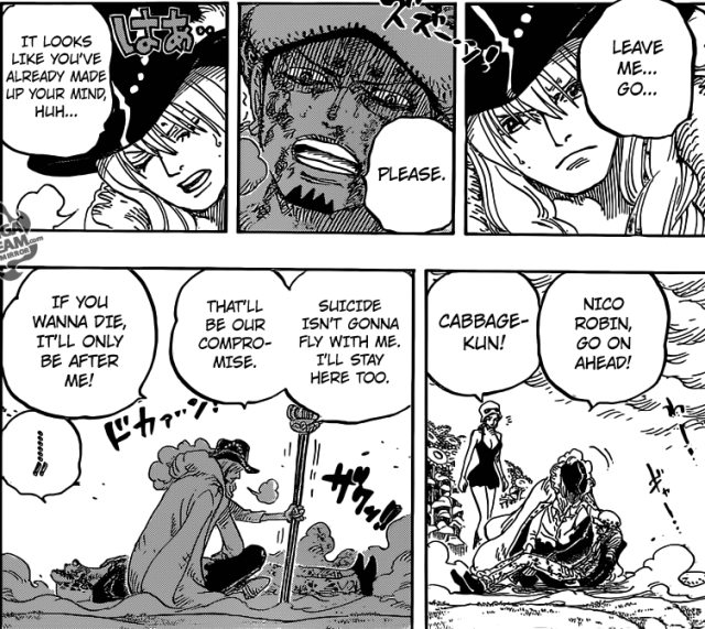 One Piece Chapter 783 - Cavendish and Law