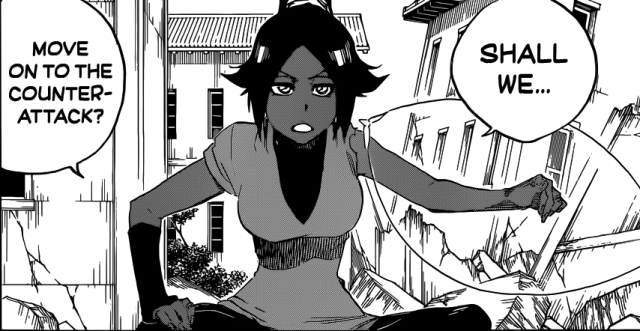 Bleach chapter 624 - Yoruichi ready to counter attack