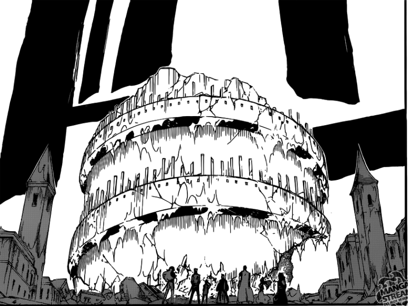 Bleach chapter 627 - The recreated Soul King's Palace