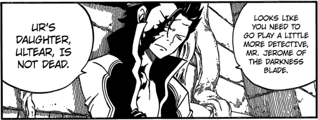 Fairy Tail chapter 426 - Mention of Ultear