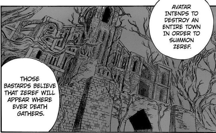 Fairy Tail chapter 430 - The intention of Avatar