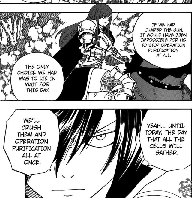 Fairy Tail chapter 430 - Erza and Gray's mission