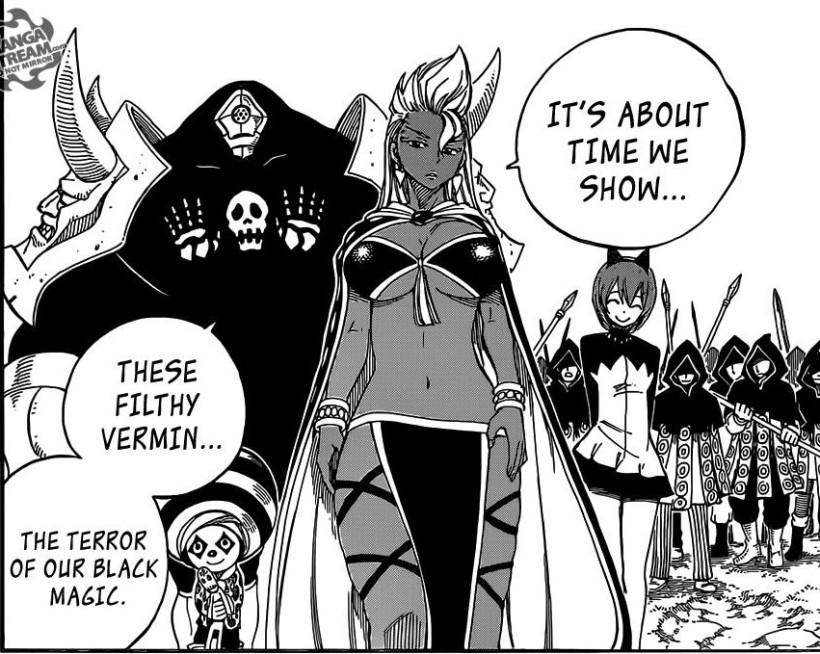 Fairy Tail chapter 431 - Avatar's Black Magic