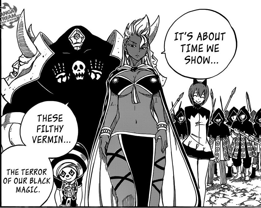 Fairy Tail chapter 431 - Avatar's Black Magic