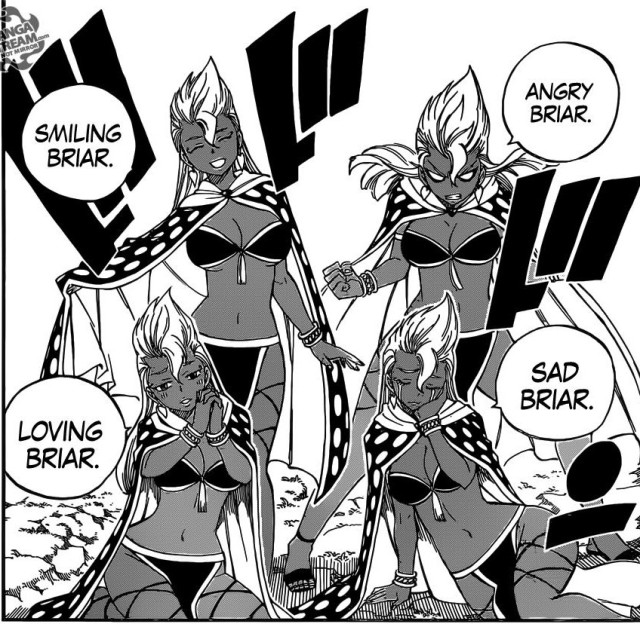 Fairy Tail chapter 432 - Briar's Clone Magic