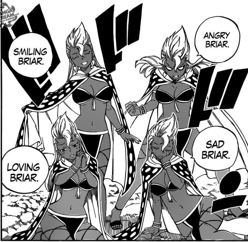 Fairy Tail chapter 432 - Briar's Clone Magic