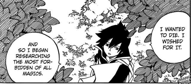 Fairy Tail chapter 436 - Zeref's desires