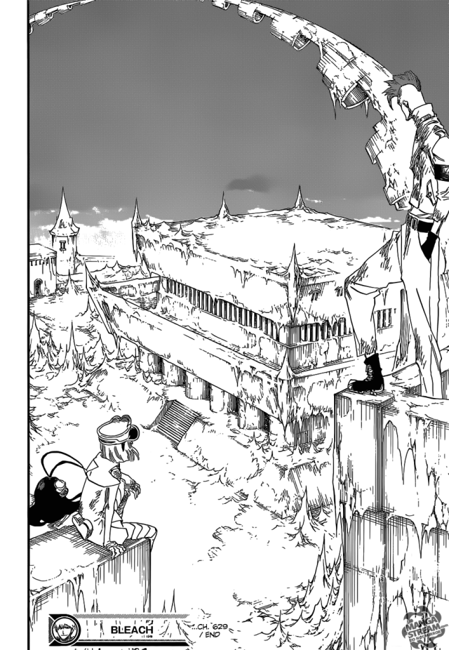 Bleach chapter 629 - The Gate of the Sun