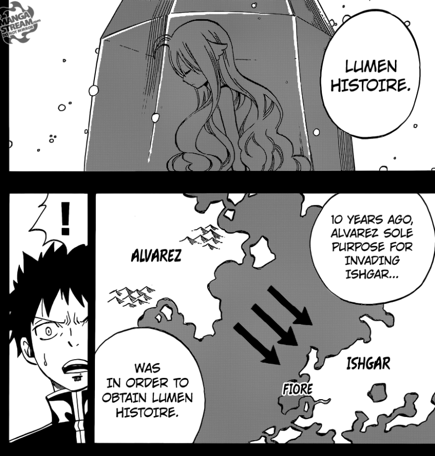 Fairy Tail chapter 439 - The Western Continent