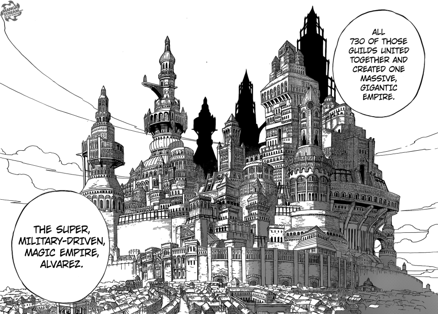 Fairy Tail chapter 439 - The Albareth Empire