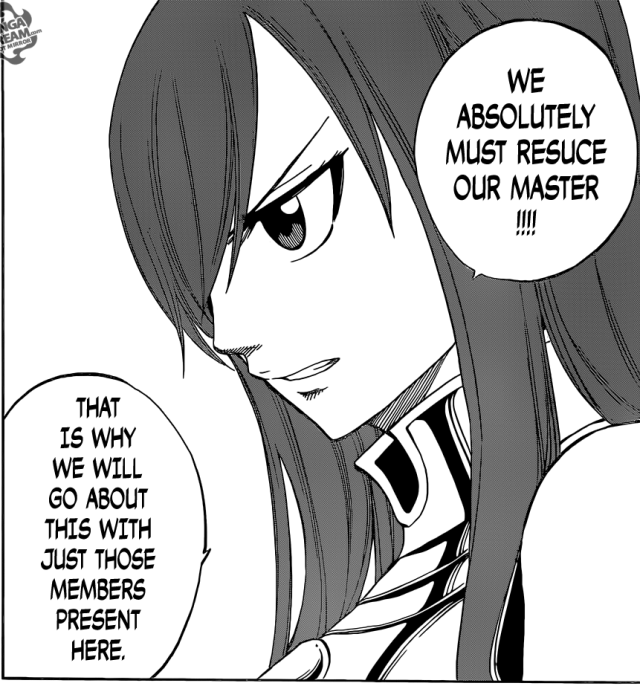 Fairy Tail chapter 440 - Erza's decision as the Seven Guild Master