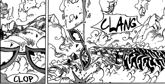 One Piece chapter 791 - Doflamingo defeated