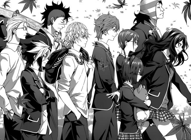 Shokugeki no Soma chapter 118 - Tootsuki's Academy's Elite Ten