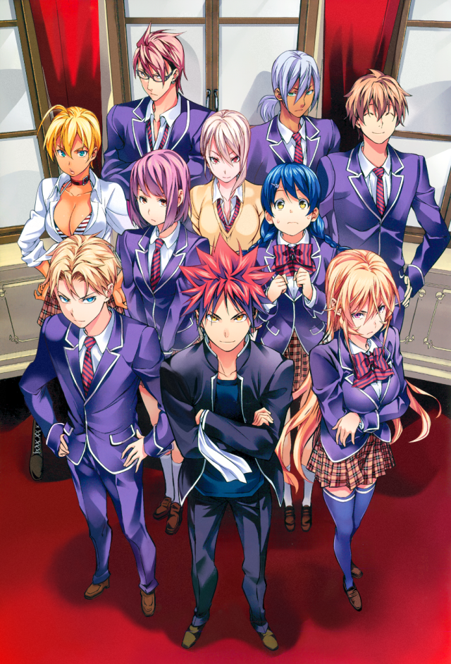 Shokugeki no Soma chapter 121 - Voting Poll Results