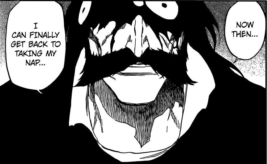 Bleach chapter 635 - Yhwach begins his sleep