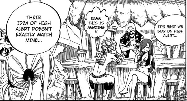 Fairy Tail chapter 442 - Manga Gelato store