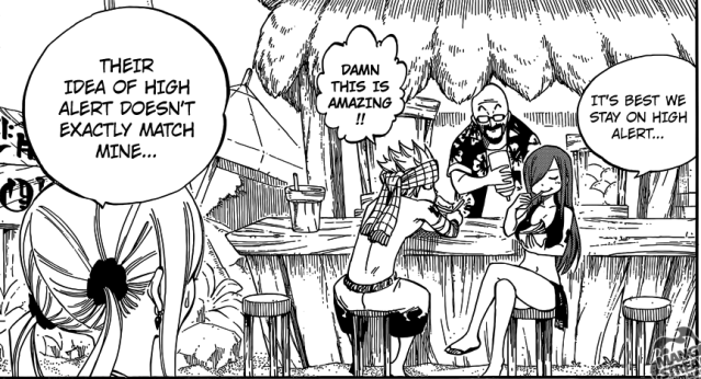 Fairy Tail chapter 442 - Manga Gelato store