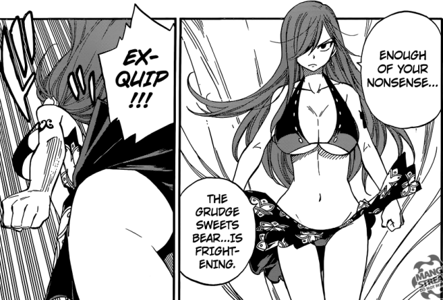 Fairy Tail chapter 442 - Erza pissed