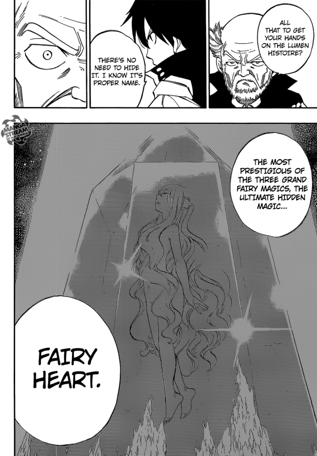 Fairy Tail chapter 445 - Fairy Heart
