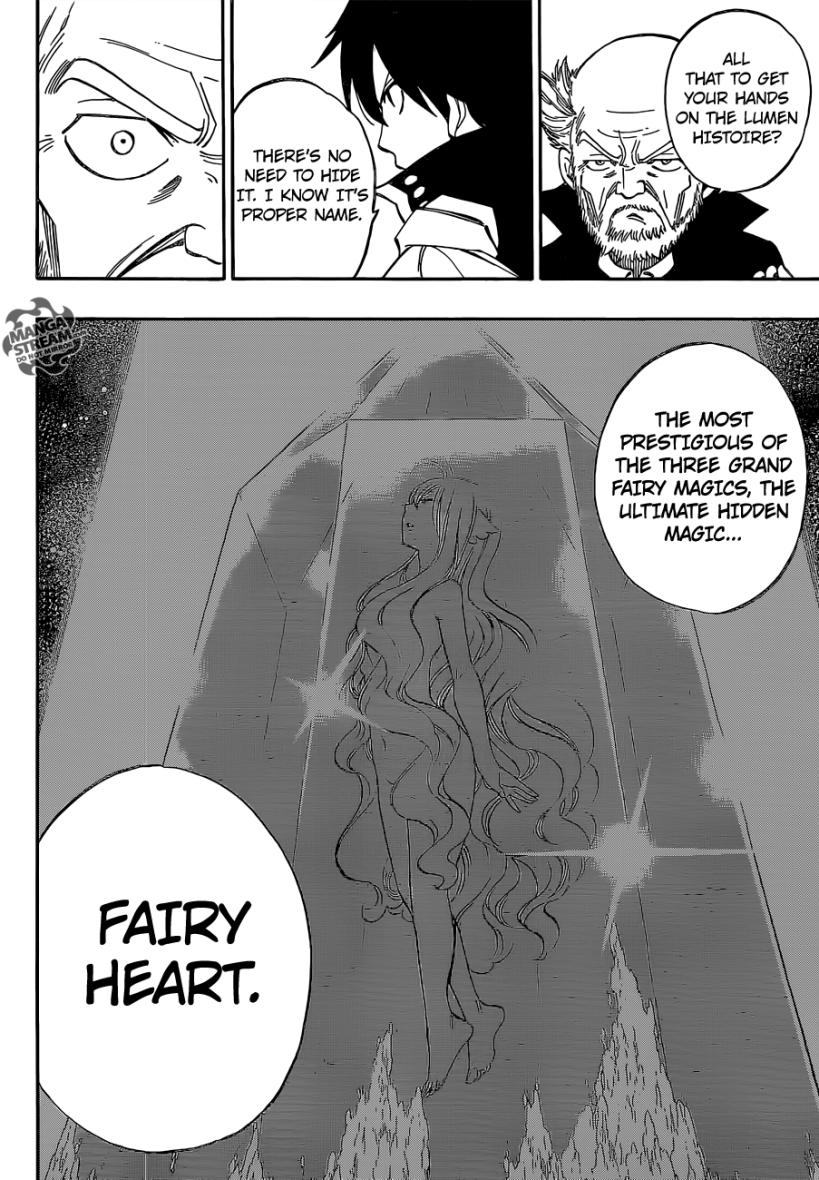 Fairy Tail chapter 445 - Fairy Heart