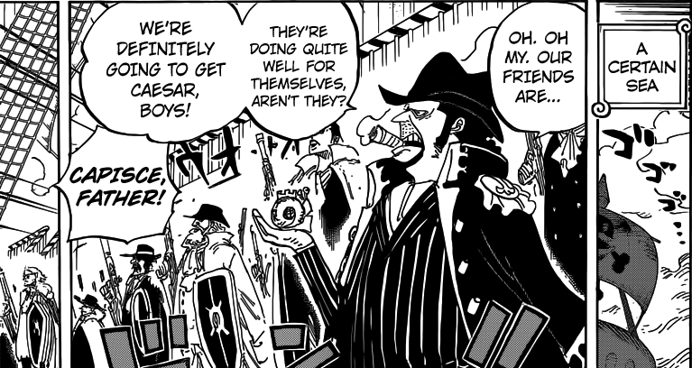 One Piece chapter 793 - Capone