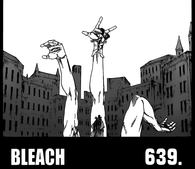 Bleach chapter 639 - Pernida splits into three arms