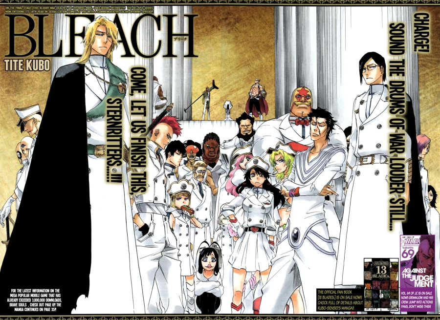 Bleach chapter 640 - Sternritter colour spread