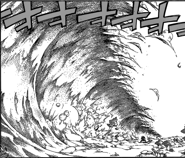 Fairy Tail chapter 447 - Azir's Sand Tsunami